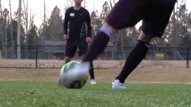 Instep Driven Ball Soccer Skills Video