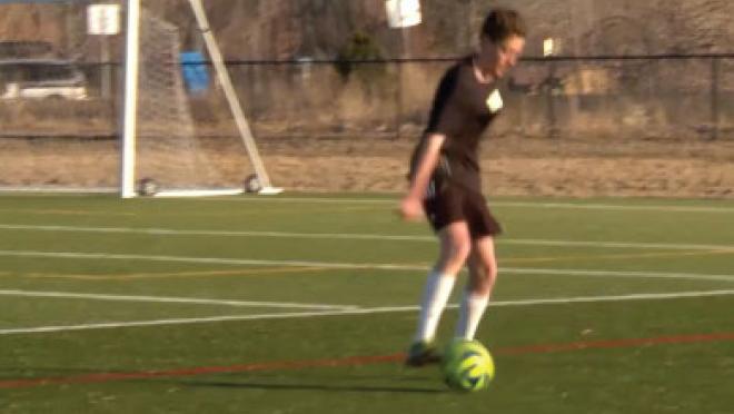 Back Foot 180 Soccer Skills Video