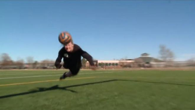 Diving Header Training Video