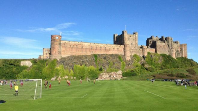 Bamburgh - The Soccer Castle