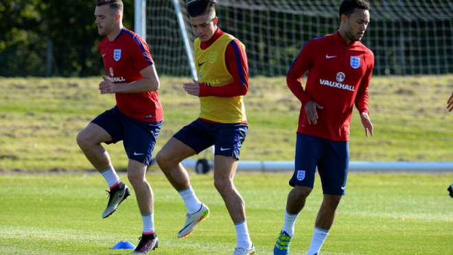 England U21 Training