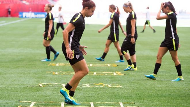 Carli Lloyd Training