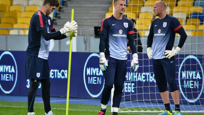 Joe Hart and England Goalkeepers