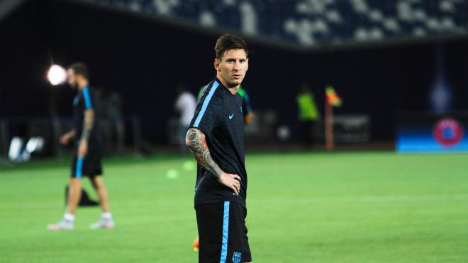 Lionel Messi Training