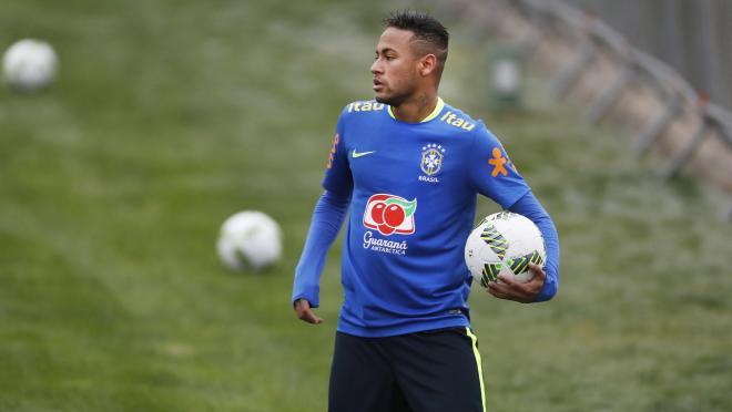 Neymar Jr In Training
