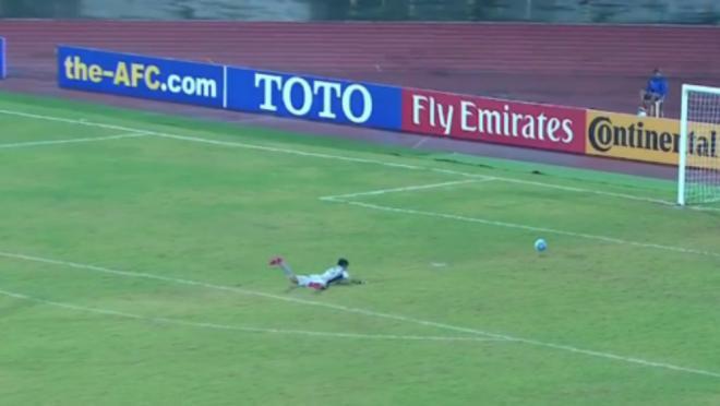 North Korea Goalkeeper Jang Paek Ho