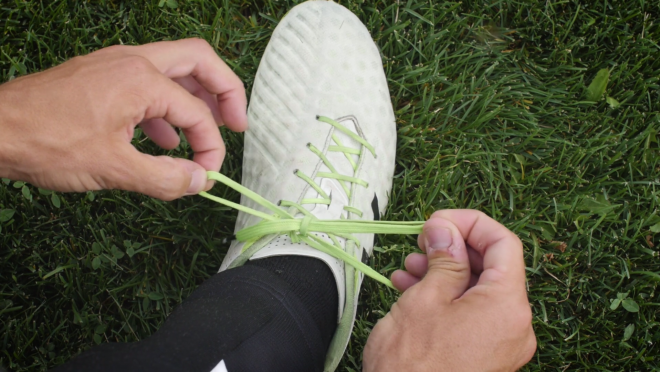 Speed Tie Your Cleat