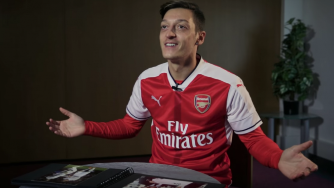 Mesut Ozil interview