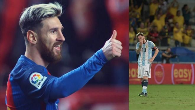 Messi Better At Barcelona than Argentina