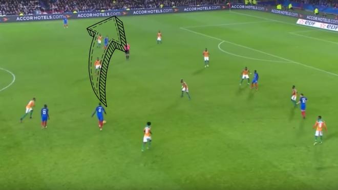 Paul Pogba Pass vs Ivory Coast