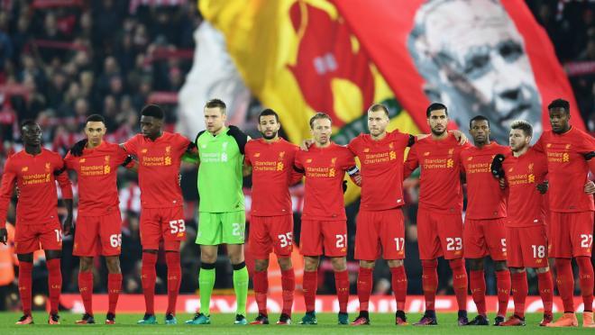Liverpool and Anfield Sing YNWA Chapecoense