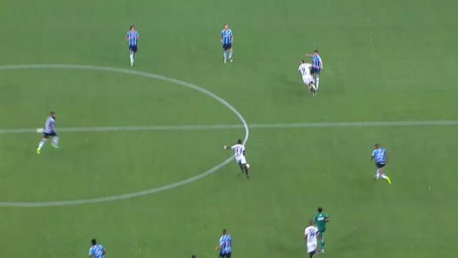 Atletico Mineiro's Juan Cazares Goal