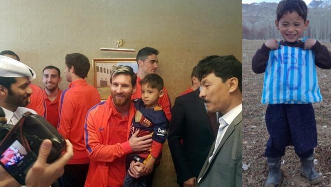 Murtaza Meets Lionel Messi