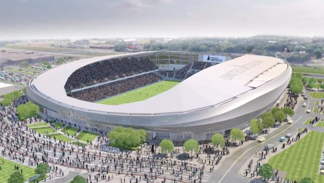 Minnesota United's New Stadium
