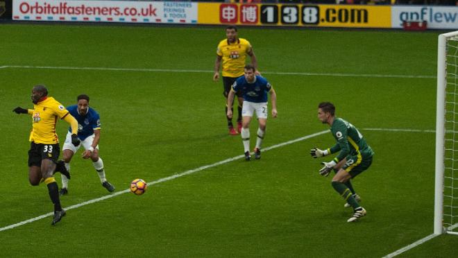 Stefano Okaka's Backheel Goal