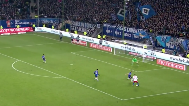 Bobby Wood Scores Vs Schalke