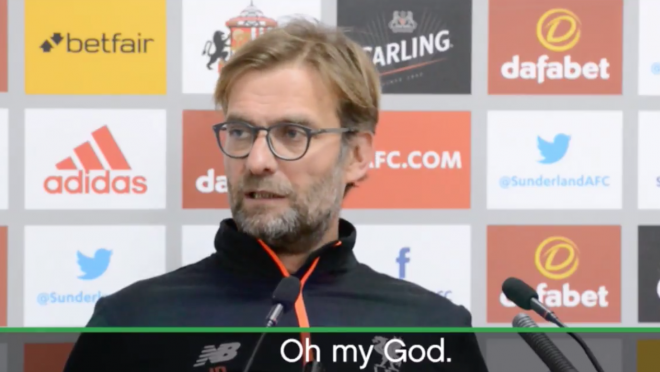 Jurgen Klopp lashes out on journalist