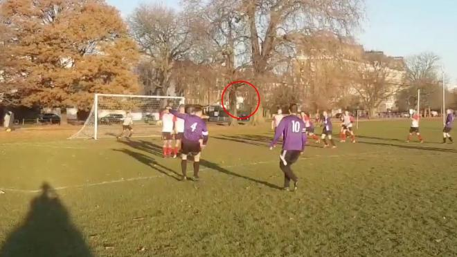 London Ravens FC Bending Free Kick Goal
