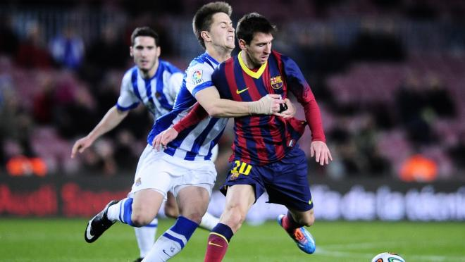 Worst Tackles On Lionel Messi