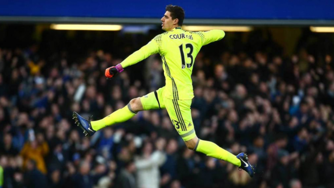 Thibaut Courtois Scores Great Free Kick Goal In Training