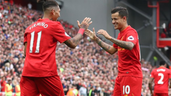 Coutinho and Firmino talk about life in Liverpool
