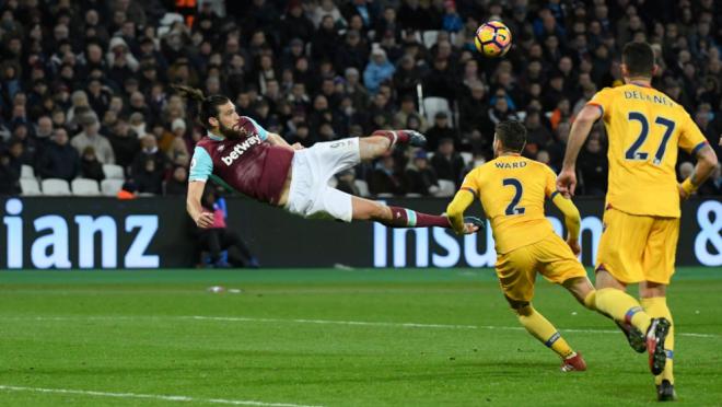 Andy Carroll Bicycle Kick Goal vs Crystal Palace