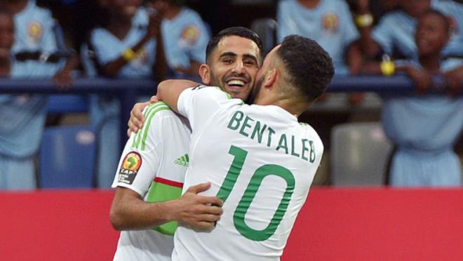 Riyad Mahrez Goal vs Zimbabwe