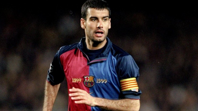 Pep Guaridola's Best Goals With Barcelona