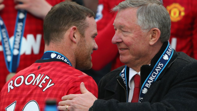 Sir Alex Ferguson talks about Wayne Rooney and Jose Mourinho