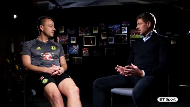 Steven Gerrard Interviews John Terry