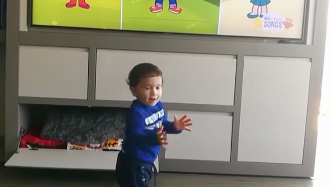 Mateo Messi Learns English