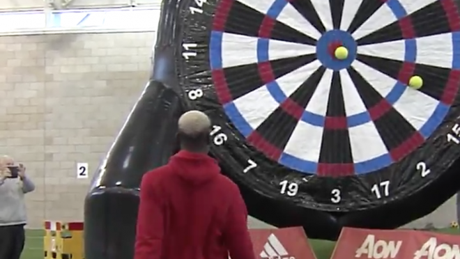 Paul Pogba Bullseye Foot Darts