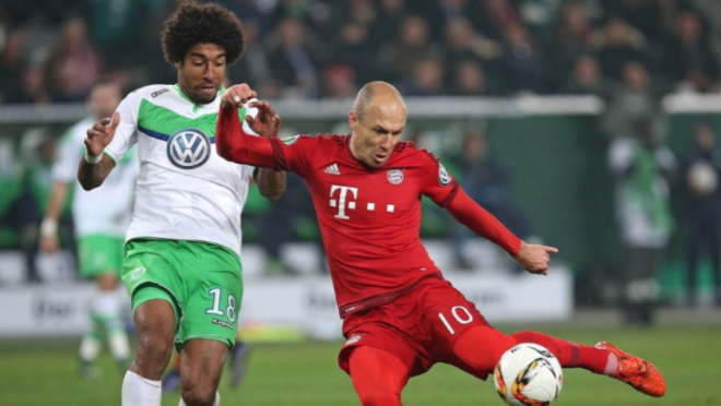 Arjen Robben Scores the Same goal with his left foot