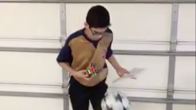 Read, Rubix cube and juggling.