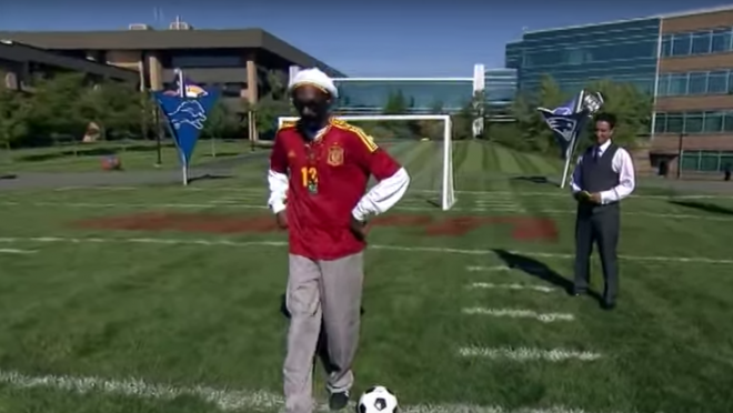 Snoop Dogg Penalty Kick