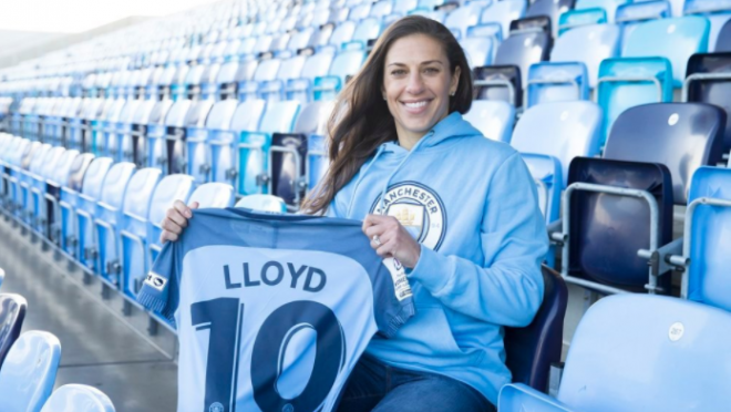 Carli Lloyd Interview Manchester City