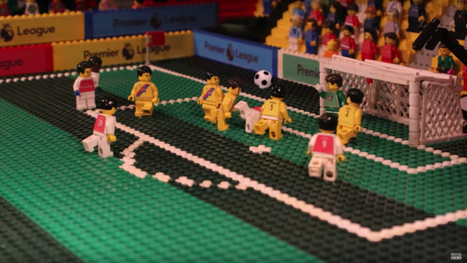 Olivier Giroud Scorpion Kick In Legos