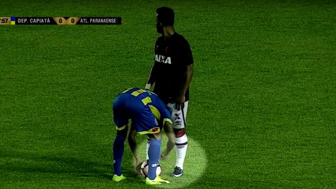 Player Unties Opponent's Shoelaces