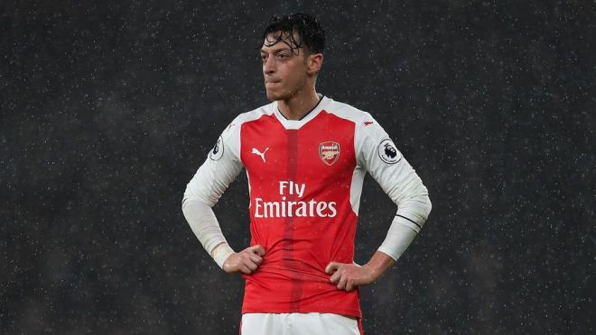 Mesut Ozil's statisctic since joining Arsenal.