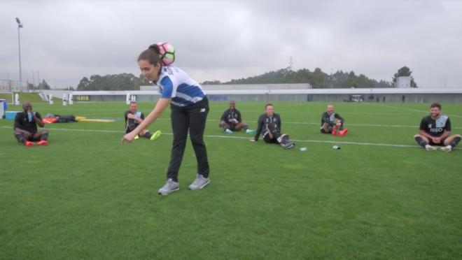 Ana Silva Freestyle with Porto
