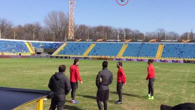 Rostov pitch condition vs Manchester United