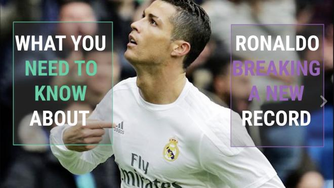 Cristiano Ronaldo Breaks Another Record