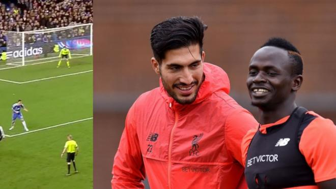 Sadio Mane Emre Can recreate Cisse Goal
