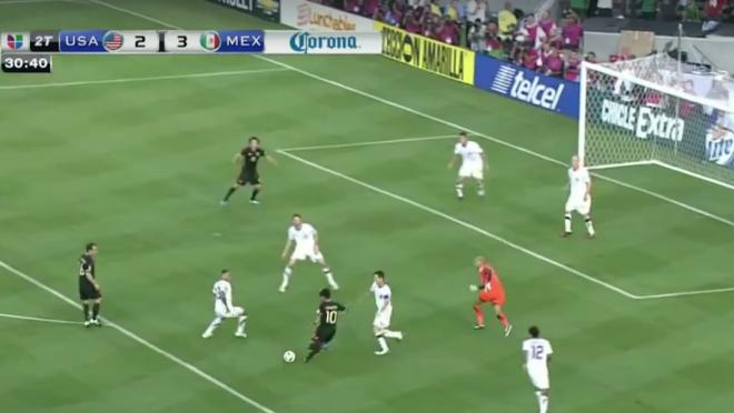 Giovani Dos Santos Gold Cup Goal vs U.S 2011
