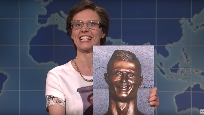 SNL weekend update Cristiano Ronaldo