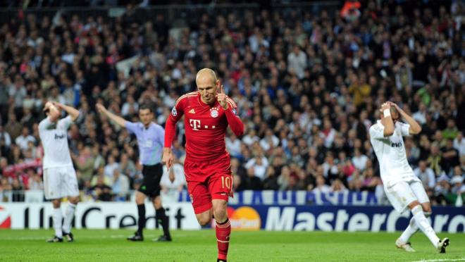 Robben's Signature Move