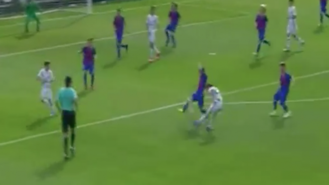 Zinedine Zidane Son Goal vs Barcelona