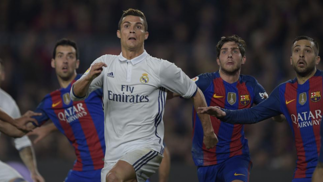 Cristiano Ronaldo goals in El Clasico