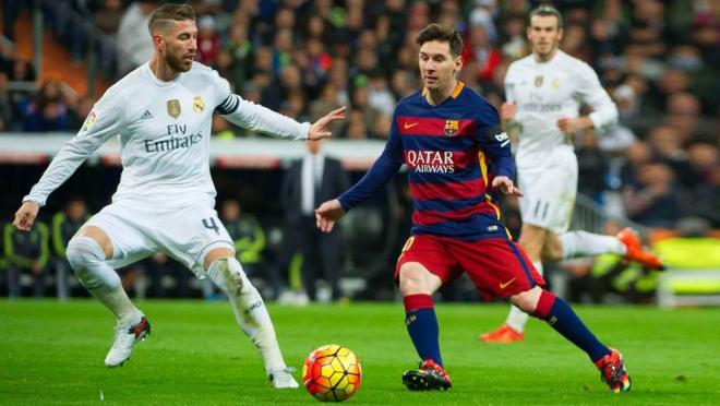 All of Lionel Messi's goals in El Clasico