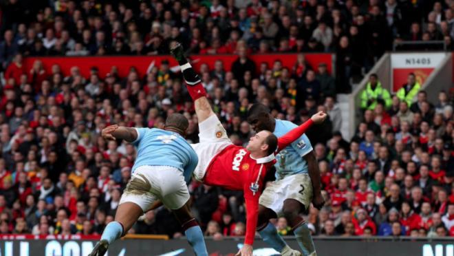 Wayne Rooney Bicycle kick vs Manchester City